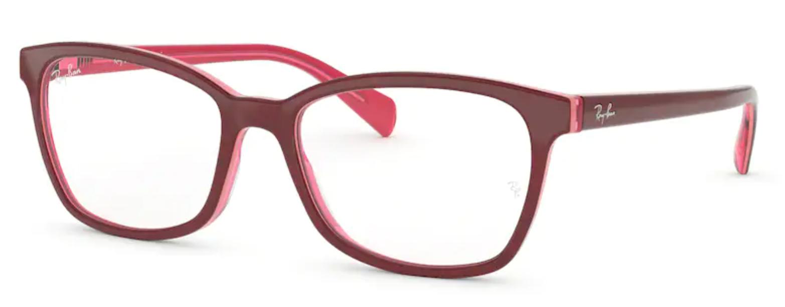Óculos de Grau Ray Ban Vermelho Feminino RB5362 5777 Tam. 54