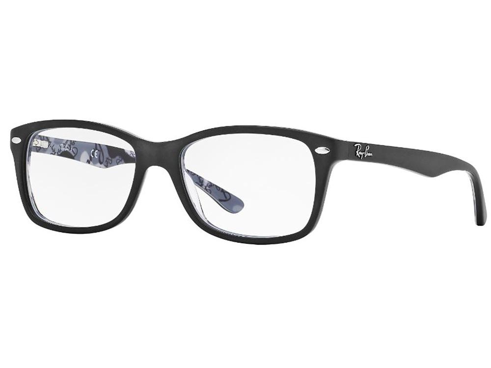 b1e9bf2b7 Óculos De Grau Ray Ban Wayfarer RB5228 5405 Tam.53Ray Ban ...