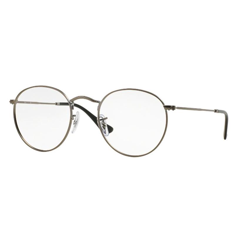 Óculos De Grau Ray Ban Redondo Round Metal RB3447VL 2620 Tam.50