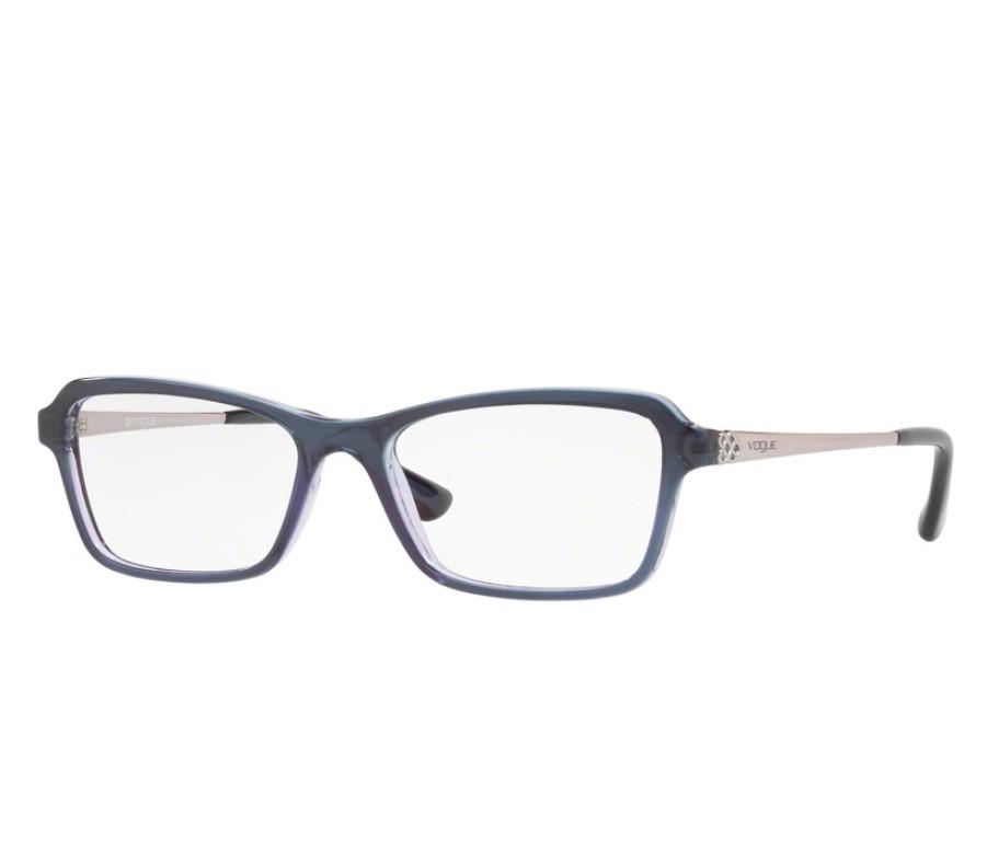 a7e6173eebd4d Óculos de Grau Vogue Feminino Azul VO5162L 2543 Tam.53Vogue ...