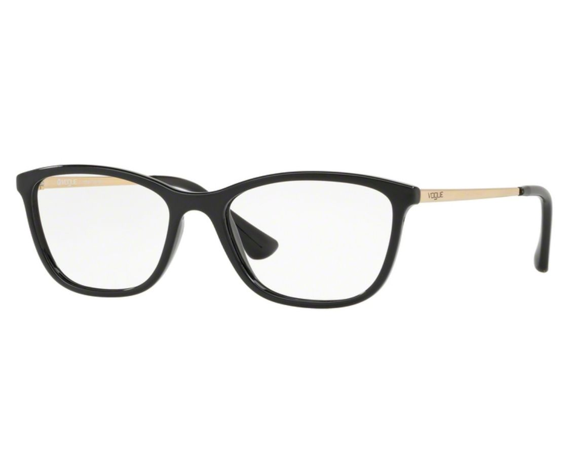 Óculos de Grau Vogue Feminino Preto VO5219L W44 Tam.51Vogue ... 2ee836deab