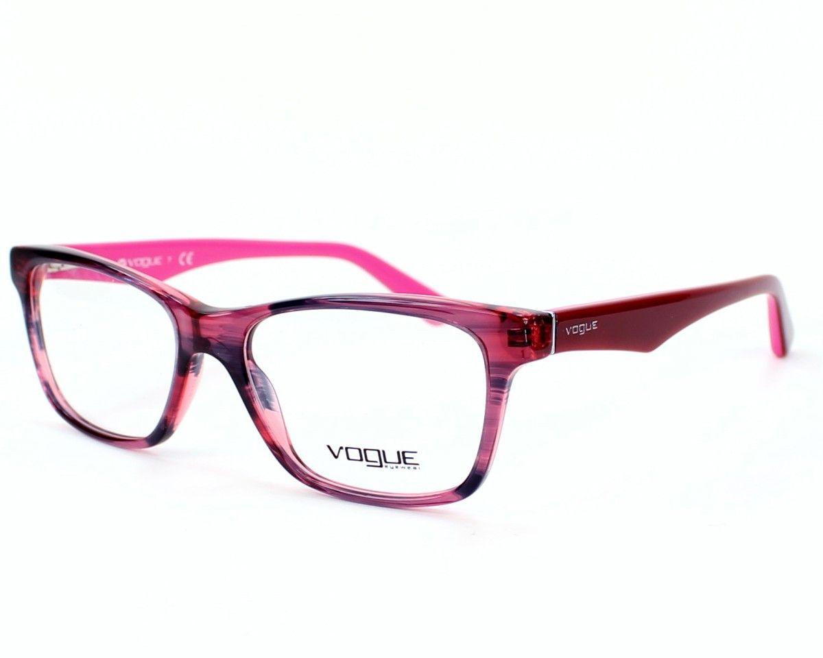 Óculos de Grau Vogue Feminino Rosa VO 2787 2061 Tam.53