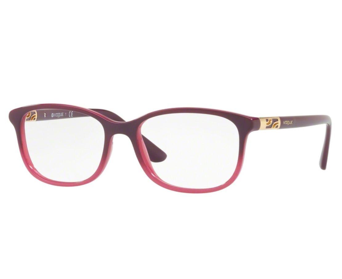 Óculos de Grau Vogue Feminino Roxo VO5163 2557 Tam.53