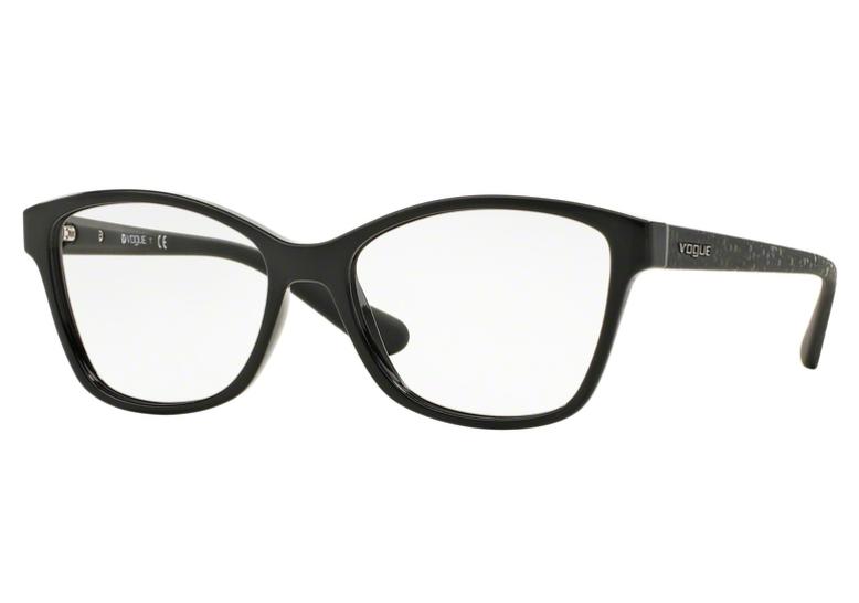 Óculos de Grau Vogue Glam Preto VO2998 W44 Tam.54