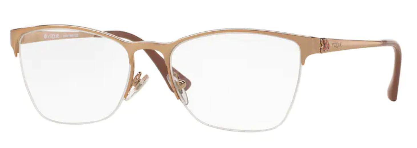 Óculos de Grau Vogue Metal Cobre VO 4005L 995 Tam.53