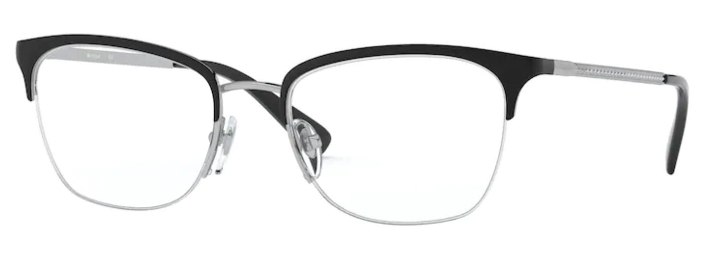 Óculos de Grau Vogue Metal Preto VO 4144B 352 Tam.53