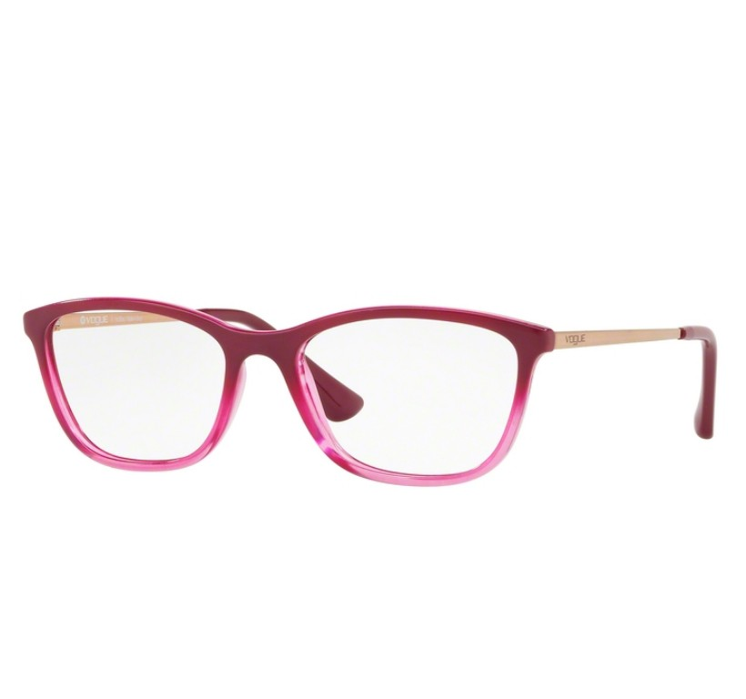 Óculos de Grau Vogue Rosa Degradê VO5219L 2628 Tam.51Vogue ... e73dc95ece