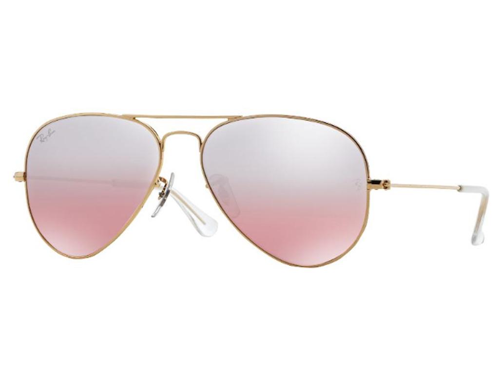 Óculos De Sol Aviador Ray Ban RB3025 001 3E Tam.55Ray Ban ... 8befbf0a84215