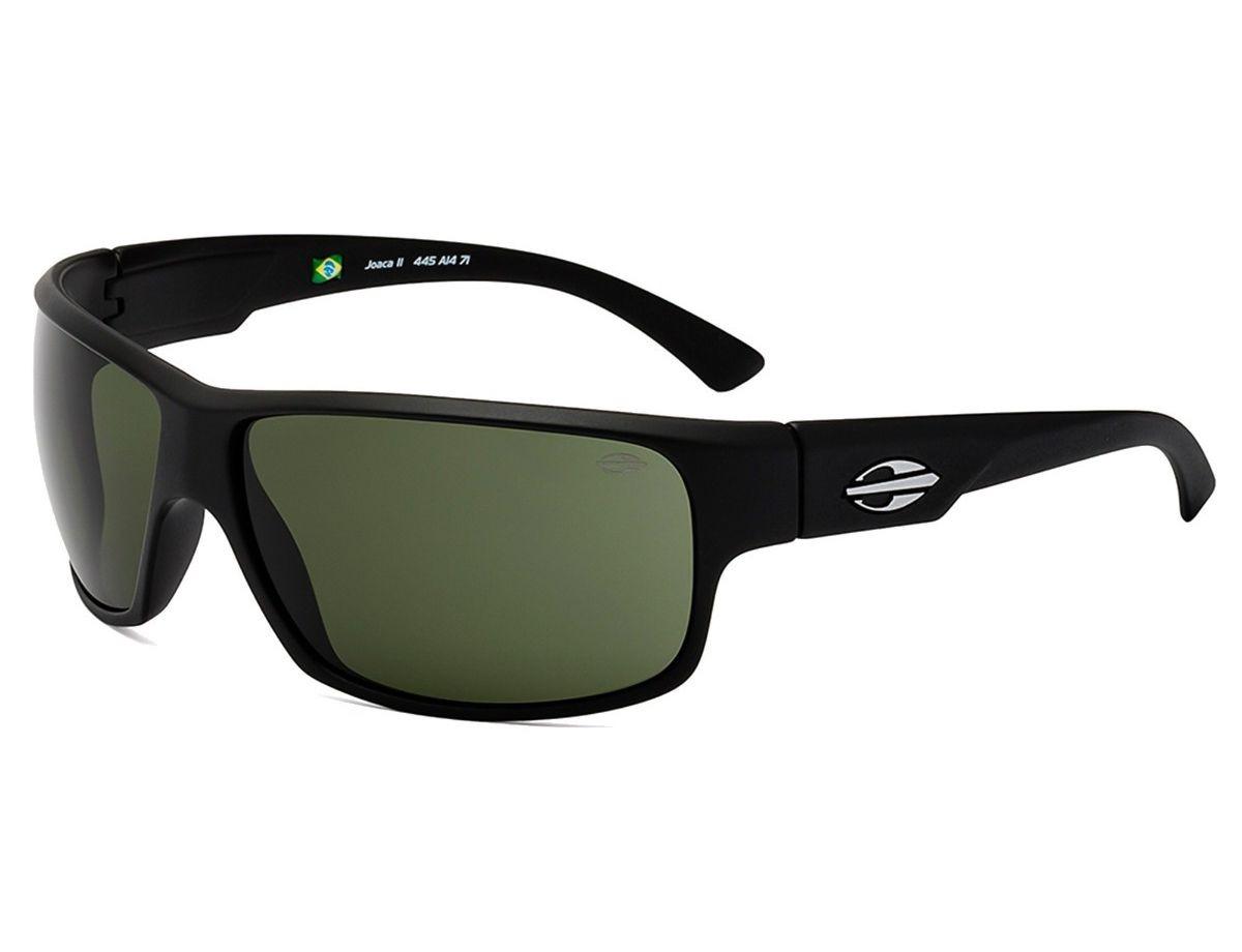 Óculos de Sol Mormaii Joaca II Masculino Preto Fosco 445A1471