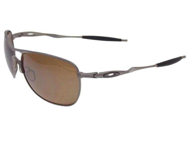 Óculos De Sol Oakley Crosshair Titânio Polarizado OO6014Oakley ... e690588f45