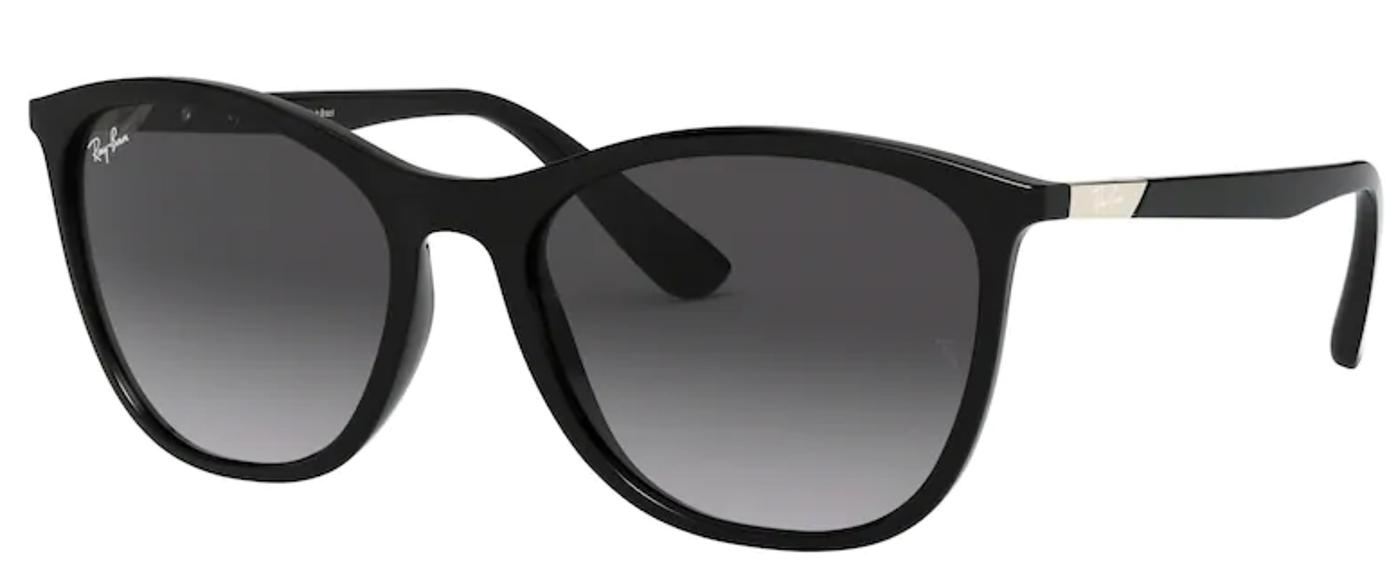 Óculos de Sol Ray Ban Feminino Preto RB4317L 6018G Tam. 56
