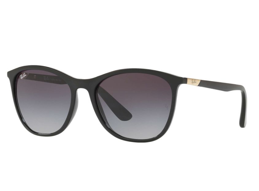 308515f52 Óculos de Sol Ray Ban Feminino Preto RB4317L 601/8G Tam. 56Ray Ban ...