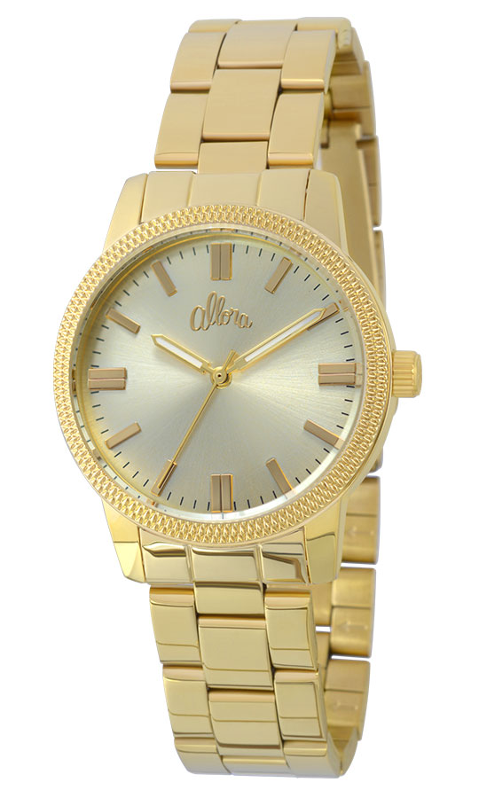 Relógio Allora Feminino Dourado AL2035EZO4DAlloraAlloraCompra segura ... 22076ca446
