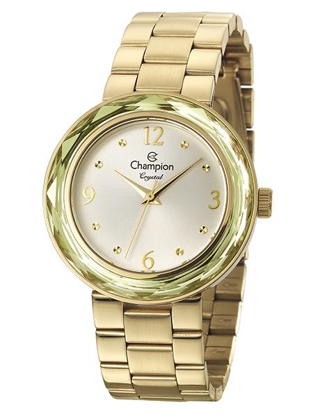 Relógio Champion Crystal Feminino Dourado CN27134H