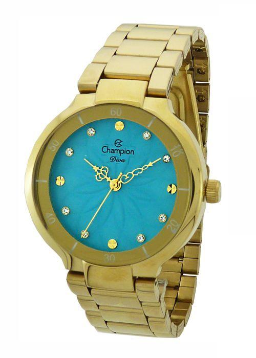 Relógio Champion Diva Feminino Azul CN25234F