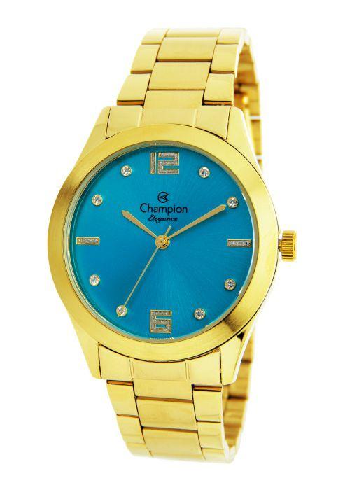 Relógio Champion Elegance Feminino Azul CN25145F