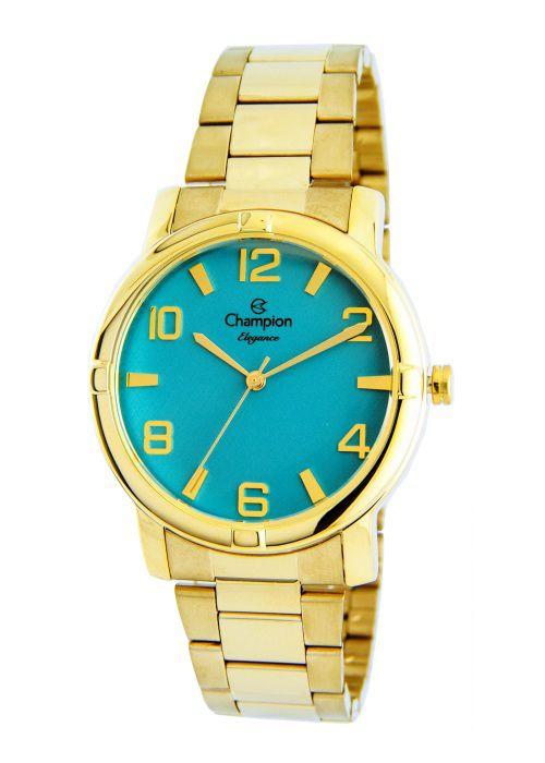 Relógio Champion Elegance Feminino Azul CN25181F
