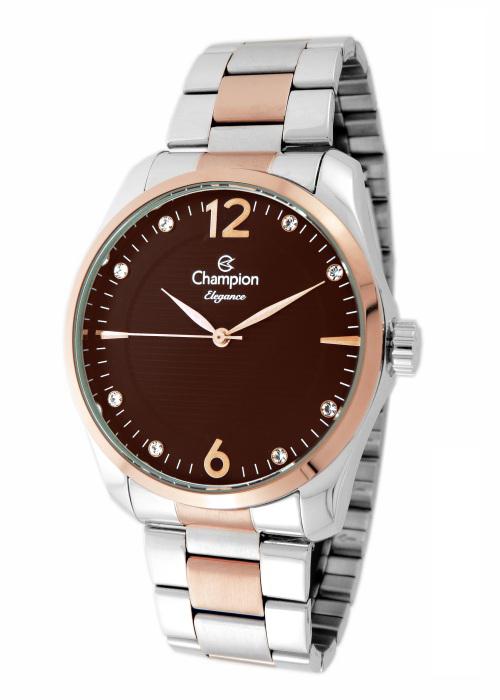Relógio Champion Elegance Feminino Prata CN27607O
