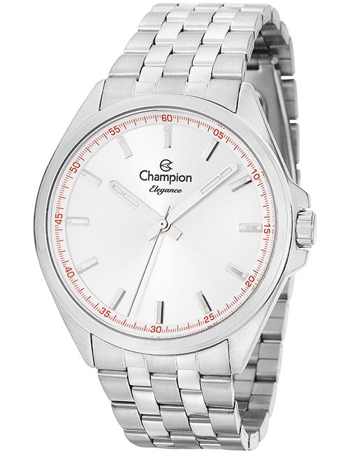 a455220f801 Relógio Champion Elegance Unissex Prata CN27705Q