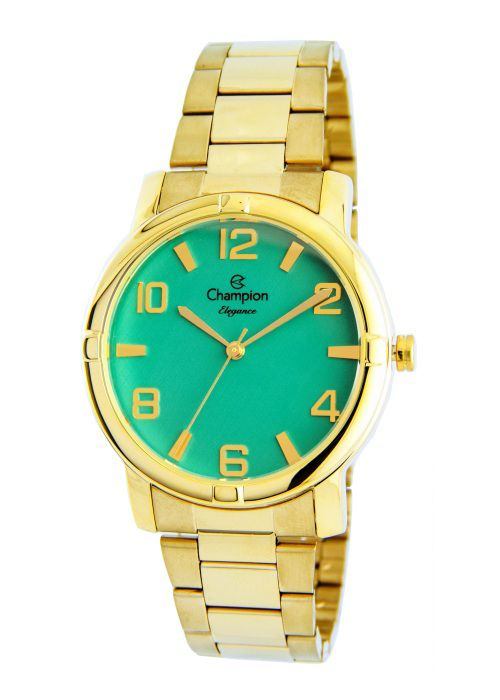 8260abe54e1 Relógio Champion Elegance Feminino Verde CN25181G