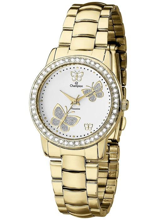 c902d08e2c0 Relógio Champion Passion Feminino Dourado CH24115H