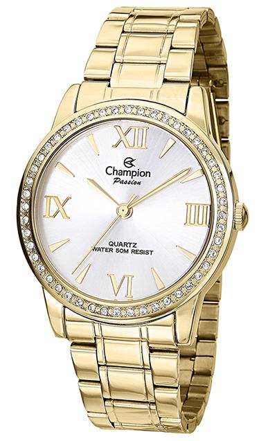 c63a0b7f01f Relógio Champion Passion Feminino Dourado CH24679H