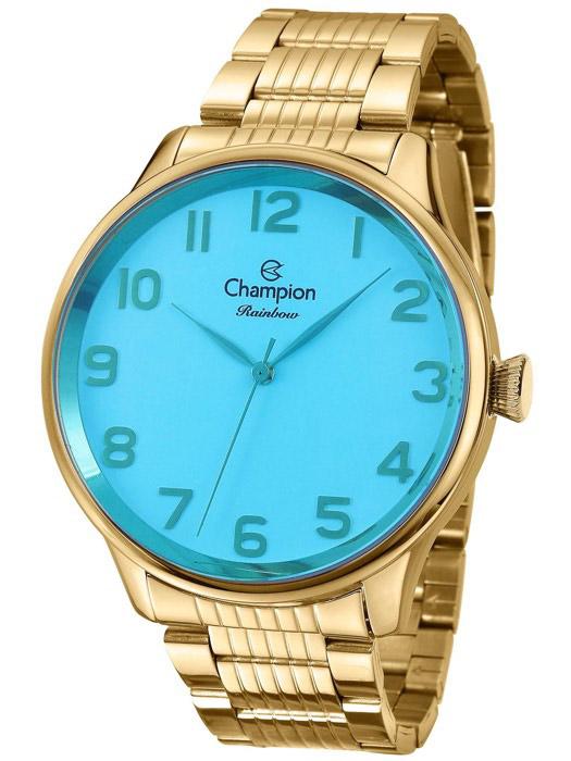 605adb4d92d8 Relógio Champion Rainbow Azul Feminino ...