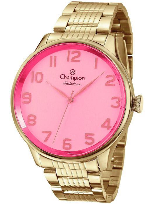 9318a02dc5c Relógio Champion Rainbow Rosa Feminino CN29918I