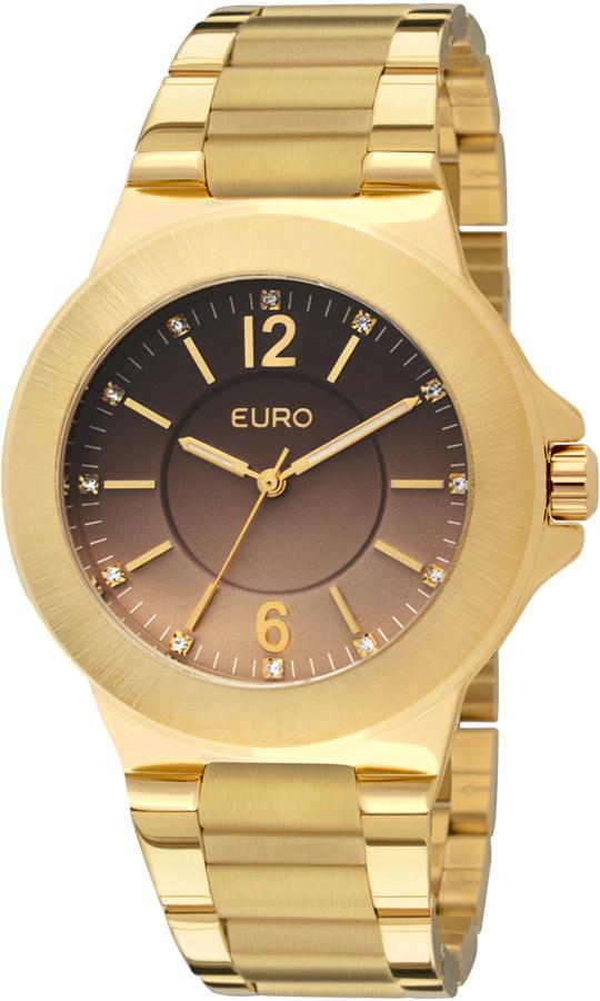 b79041242077b Relogio Euro Feminino Dourado Premium Degradê EU2035LQS4X