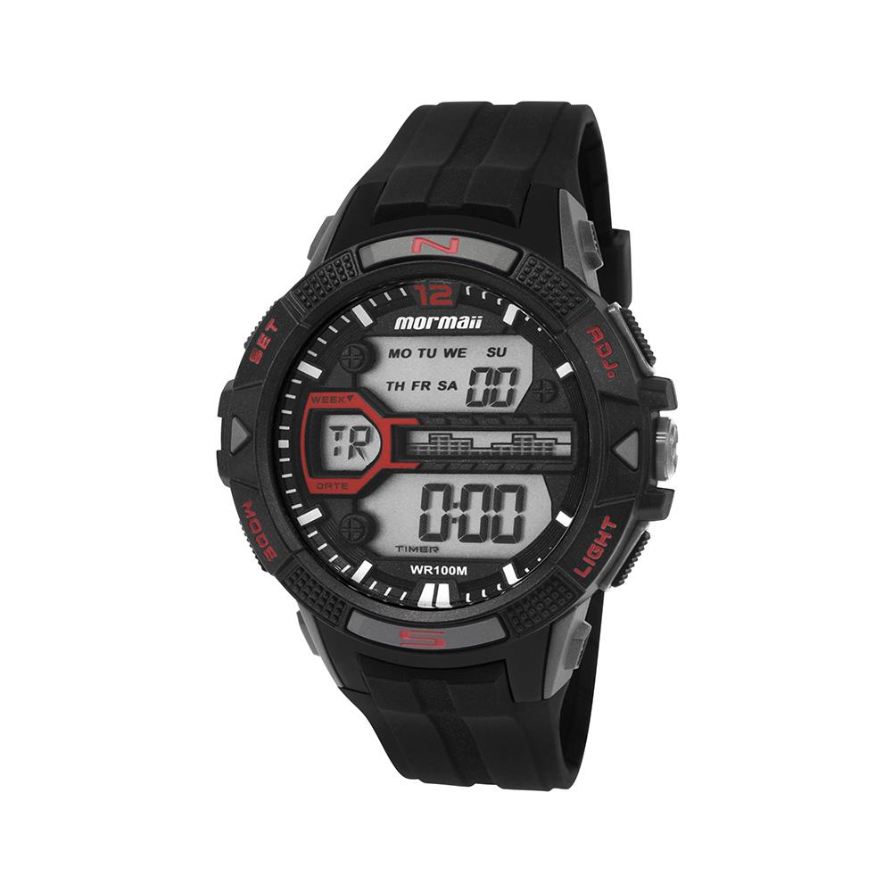 2276e13aaae Relógio Masculino Mormaii Esportivo Digital MO5000 8R