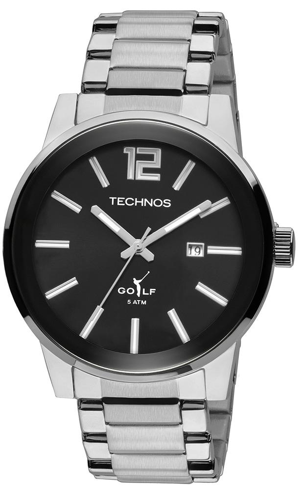 0b4ade9f102 Relógio Masculino Technos Classic Golf Analógico 2115TU ...