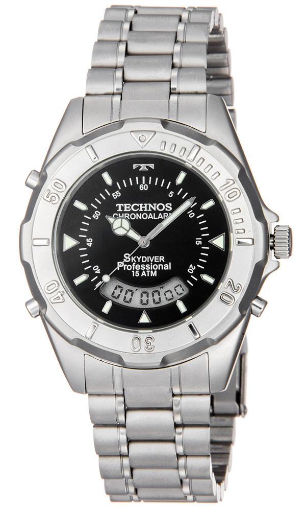 514e4395a74 Relógio Masculino Technos Skydiver Analógico T20557 ...