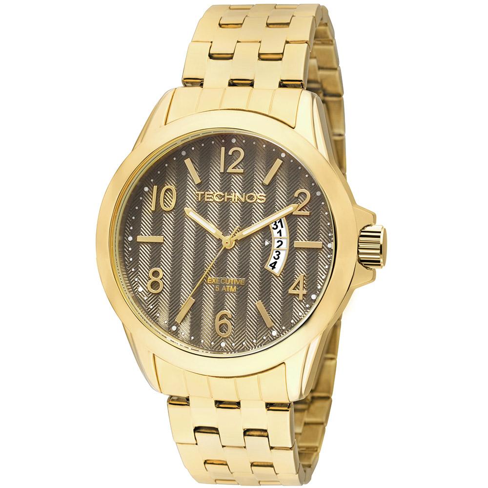 Relógio Technos Classic Executive Analógico 2115KRD/4X