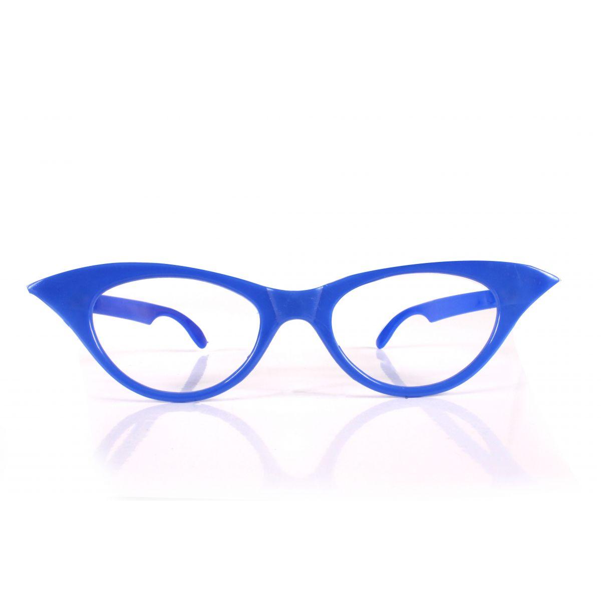 Óculos Gatão Sem Lente Para Festas Cores Sortidas