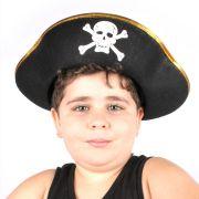 1 Kit Pirata + 1 Chapéu Pirata