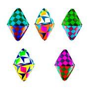 Balão Junino Decorativo de Seda 5 unidades