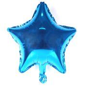 Balão Metalizado Estrela Azul 48Cm