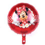 Balão Metalizado Minnie Vermelha Luxo un.