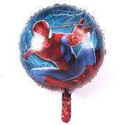 Balão Metalizado Homem Aranha Luxo un.