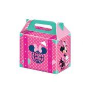 Caixa Surpresa Minnie Rosa 8un