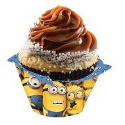 Capa Para Cup Cake Minions 8Un