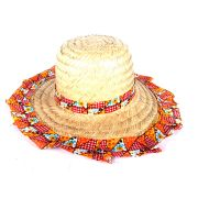 Chapéu de Palha Adulto Feminino Tecido