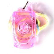 Colar Pisca Celular Transparente
