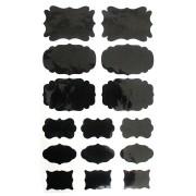 Etiquetas Adesivas Lousa Quadro Negro - 15 unidades