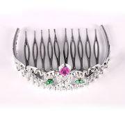 Kit 30 Gravatas Holográficas + 35 Mini Coroa Princesa