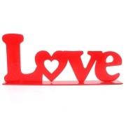Letreiro em MDF Love
