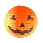 Luminária Abóbora de Halloween - Papel