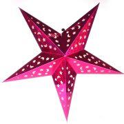 Luminária Grande Estrela Pink