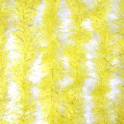 Marabu Sintético Com Fios Metalizados Amarelo