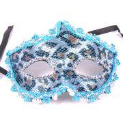 Máscara Elegância Azul